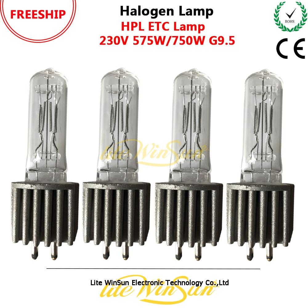 Litewinsune FREESHIP 575W 750W 3200K G9 5 HPL575 Heat Sink Halogen Light Bulb