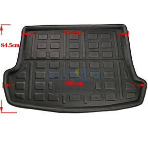 Image 3 - For Volkswagen VW T Roc T ROC TRoc 2017 2018 2019 Boot Liner Cargo Tray Trunk Liner Mat Floor Carpet Luggage Tray Accessories