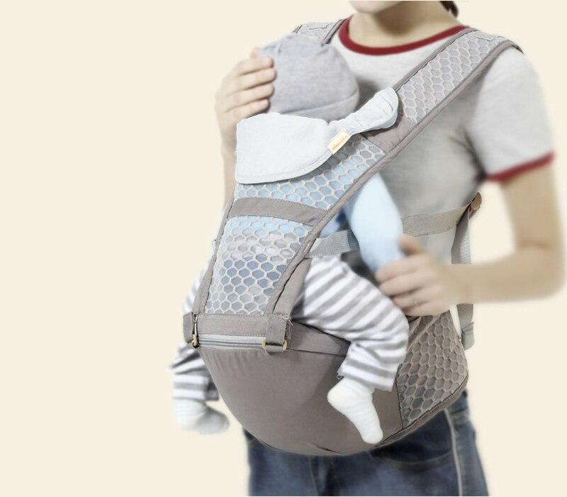 Honeylulu Verão Portador de Bebê Respirável Moda