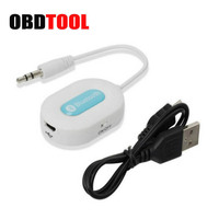 ObdTooL Hot Bluetooth Car Kit Music Streaming Receiver Adapter 3.0 Audio with Hands Free Calling 3.5 Mm Stereo Output Cable JC10