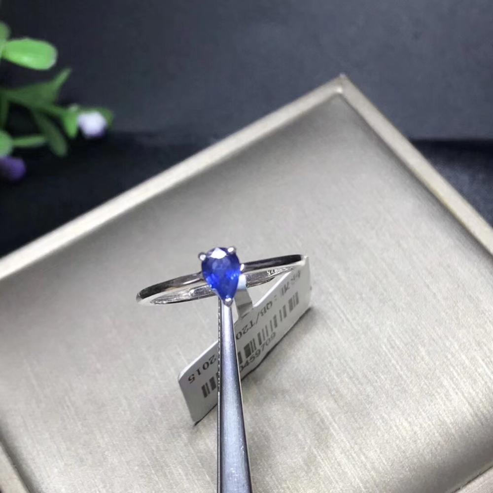 Shop New Products, Recommended By The Owner. Special Price To Return Old Customers. 925 Silver Natural Sapphire Ring, Simple And