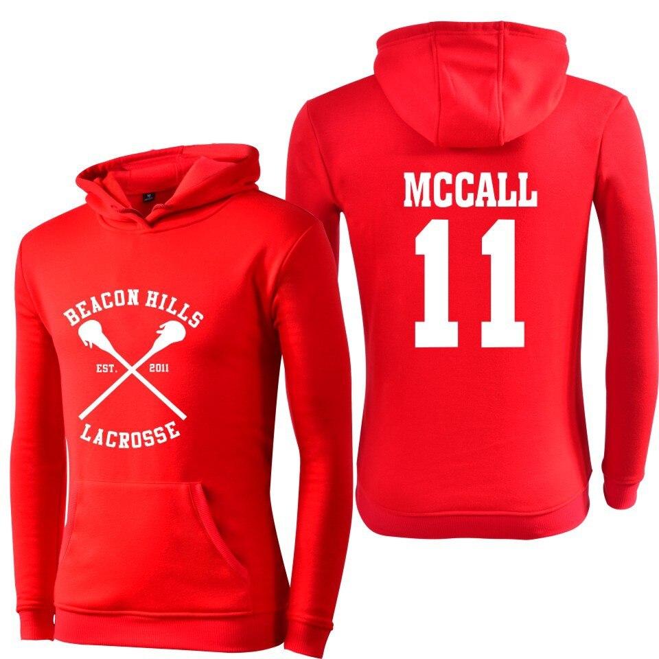 Teen Wolf McCall  Argent Unisex Hoodie All Names Beacon Hills Lacrosse Hoodie