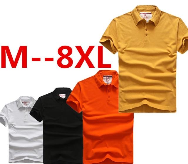 8xl 7xl 6xl 5xl 4xl Summer Short Sleeve Sports Polo Shirts Men Boy