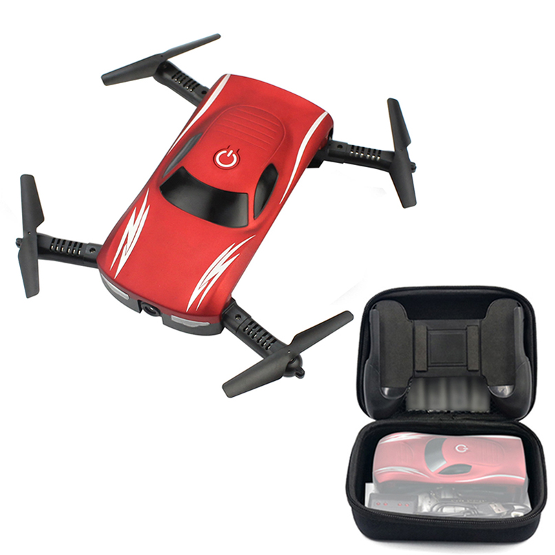 Foldable Drone Camera Selfie Altitude-Hold Voice-Control Rc-Quadcopter Wifi Phone FPV