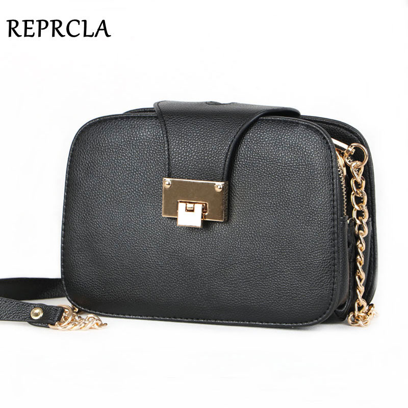REPRCLA Summer New Fashion Women Shoulder Bag Chain Strap Flap Messenger Bags De