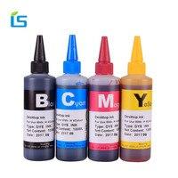 4 Stks/set 100 ml Universele Inkt Refill Inkt kit voor Epson voor Canon voor HP voor Brother voor Lexmark voor DELL Inkjet CISS Cartridge