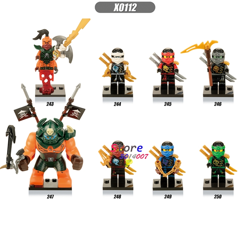 80pcs starwars SUPERHERO Ninja Fabulous Gnea Beauty Nada Khan building block figure bricks friends for games kids children toy