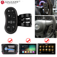 AZGIANT Universal Multifunctional Car Steering Wheel Control Key Button for Your Car Stereo convenience and safety Car Accessory