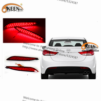 OKEEN Daytime Running Lights 35 Led And Chip ABS Housing Stop Brake Car Rear Lamps