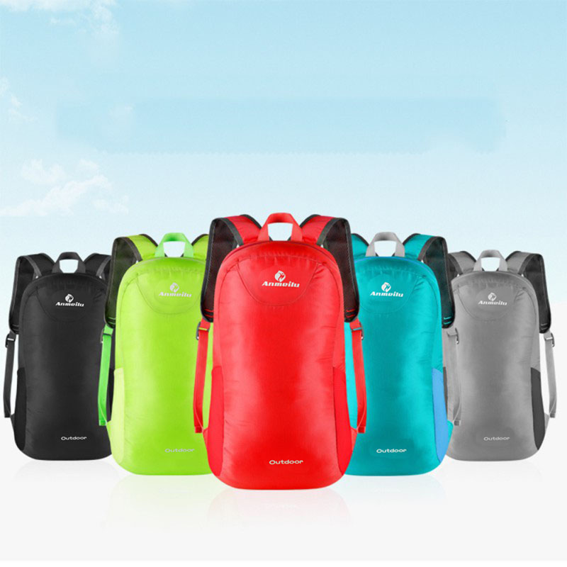 Outdoor Camping Hiking Brand Lightweight Waterproof Backpack Travel Foldable Pack Rucksack Sports Bag New Arrival 2017