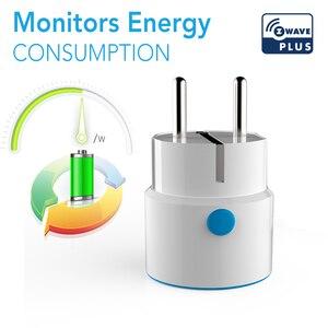 Image 4 - NEO COOLCAM NAS WR01ZE Z wave Plus Smart Power Plug EU Socket Smart Home Automation Alarm System home