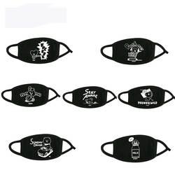 Новый Kpop BTS Bangtan обувь для мальчиков рот маска унисекс муфельные респиратор хлопок с буквенным принтом мягкий рот маска