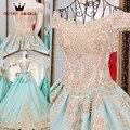 Lace Up vestido de Bola Que Rebordea Flores Vestido de Noche Largo vestidos de fiesta 2017 Vestido de Satén de Lujo de Dubai ZL79