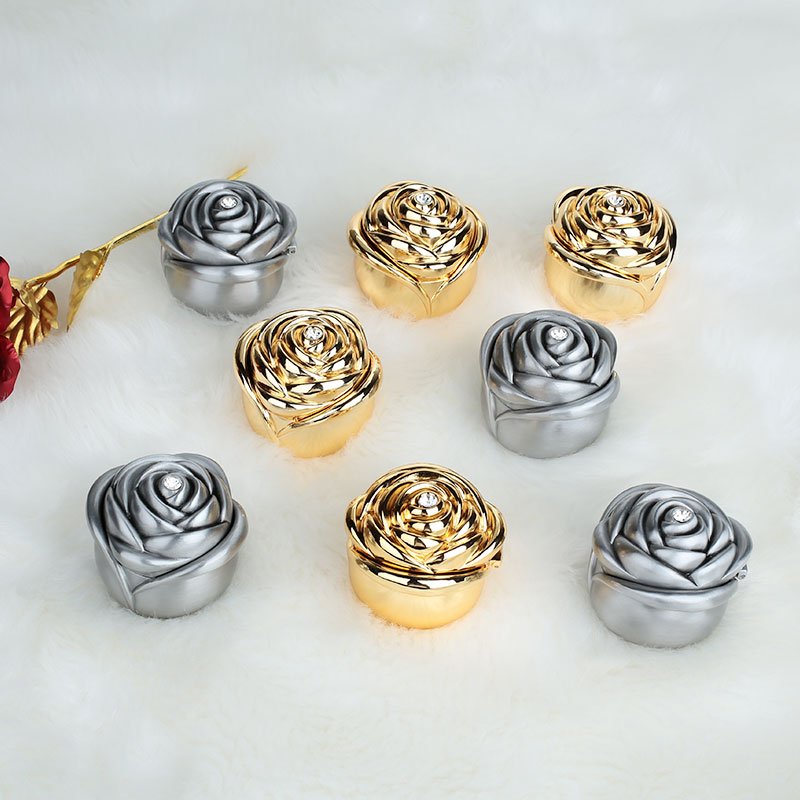 Roses Flower Metal Wedding Romantic Immortalized Flower Gift Beautiful Preserved Flower Drop Shipping Сумка