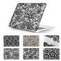 """Черное кружево цветочный узор крышка чехол для MacBook Air 13.3 """" ноутбук рукав , пригодный для MacBook pro 13 15 нью-retina воздуха 11 12 дюймов"""