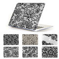 "Black Lace Floral Pattern Cover Case For MacBook air 13.3""  Laptop Sleeve Fit for macbook pro 13 15 Retina Air 11 12 inch"
