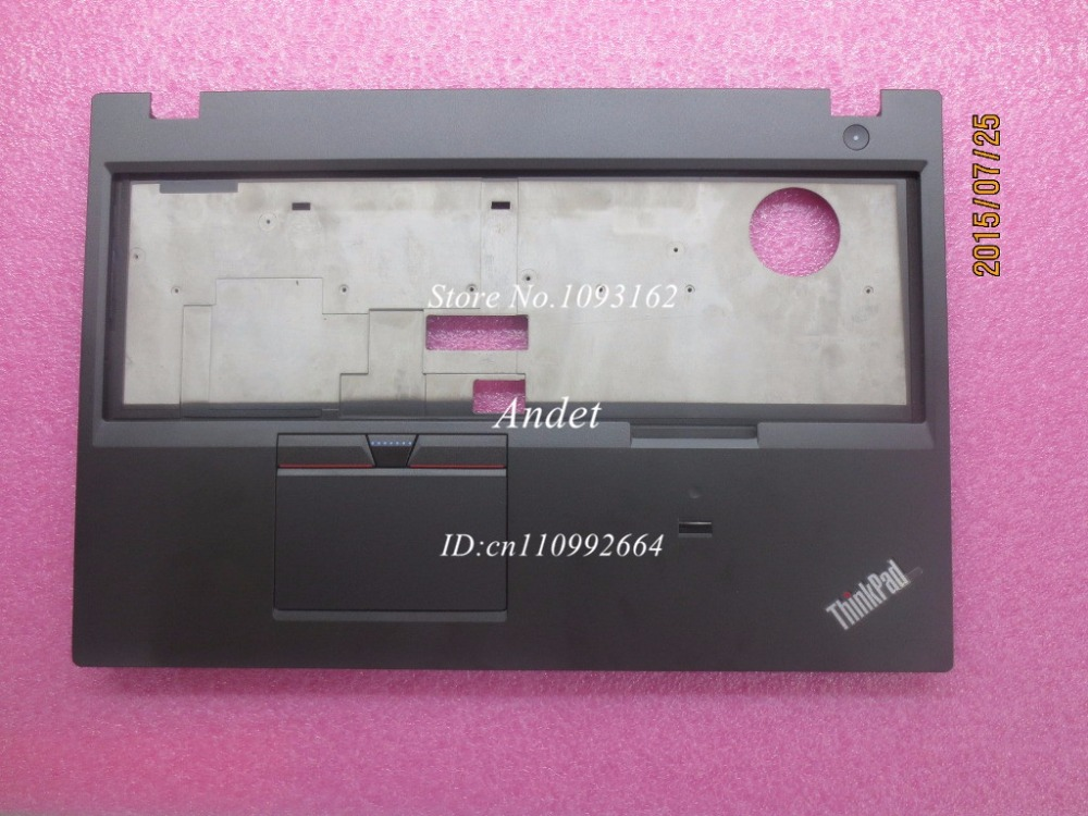 New Original for Lenovo ThinkPad T550 Palmrest Keyboard Bezel Cover Upper Case with Touchpad + Fingerprint FRU 00NY459 цены