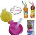 Novo estilo de materiais de bebê conveniente prático tampa torneira crianças palha bebida palha palha potável engarrafada cover para adultos crianças