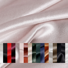 Pearlsilk High quality Satin Cotton Charmeuse Soft Fabrics 100%Cotton Materials Spring Dress DIY clothes fabric Freeshipping