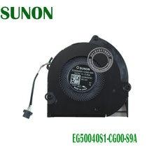 NOVO VENTILADOR de REFRIGERAÇÃO da CPU EG50040S1-CG00-S9A DC5V 0.45A 6033B0067901 4PIN