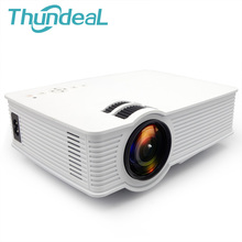 ThundeaL GP9 GP9W Android Mini Proyector de 800 Lúmenes HD WiFi 3D proyector de Cine En Casa Portátil de Vídeo HDMI USB SD AV LCD proyector