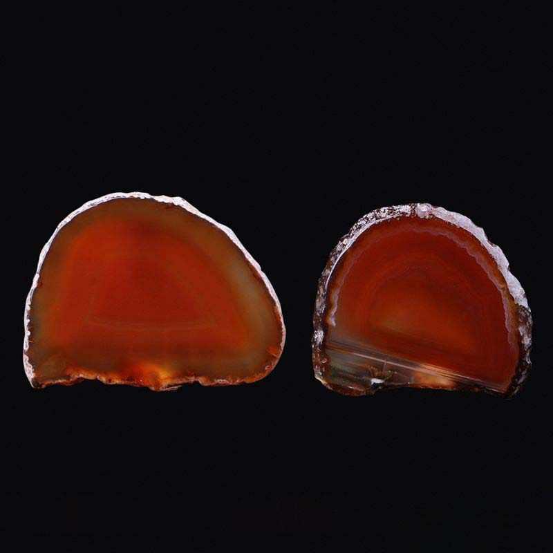 ธรรมชาติ Agate Geode ขัดคริสตัล Slice หิน DIY จี้แร่ตกแต่งบ้าน