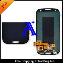 Free Shipping + 100% tested original 4.8′ For Samsung Galaxy S3 neo/ S3 i9300 i9305 i9300i i747 LCD  Digitizer Assembly