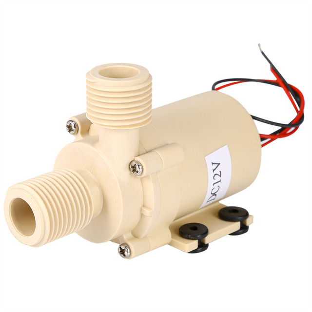 12V Food Grade Pump Circulation Water Pump Solar Hot/Cooling High Pressure Pump