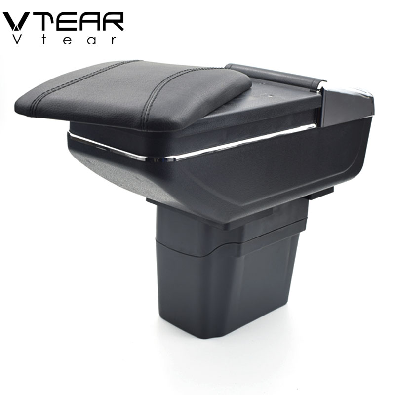 Vtear Per Chevrolet Cruze bracciolo centrale scatola scatola di contenuti Negozio scatola di Immagazzinaggio supporto di tazza posacenere interni auto-accessori per lo styling