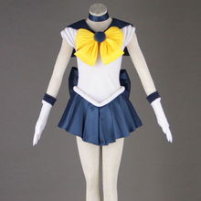 Sailor Moon Anime cosplay Sailor Uranus/Tenoh Haruka/Uranus Unisex Harajuku Halloween cosplay costumes set Can be customized