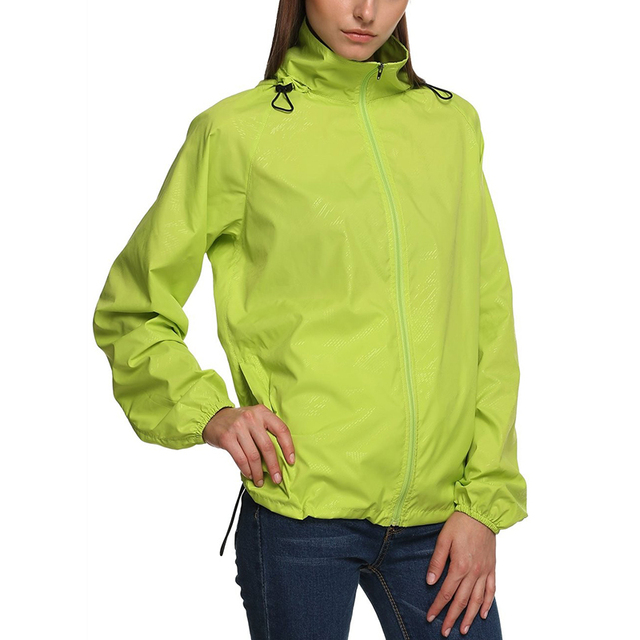 LANBAOSI Spring Outdoor Sports Women's Hiking Jackets Super Light Waterproof