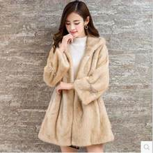 167b54769fa5d Clobee 2019 Winter Women s Faux Fur Coat Artificial Fur Overcoat Furry  Jacket Femme Plus Size Warm Fake Fur Outwear Z419