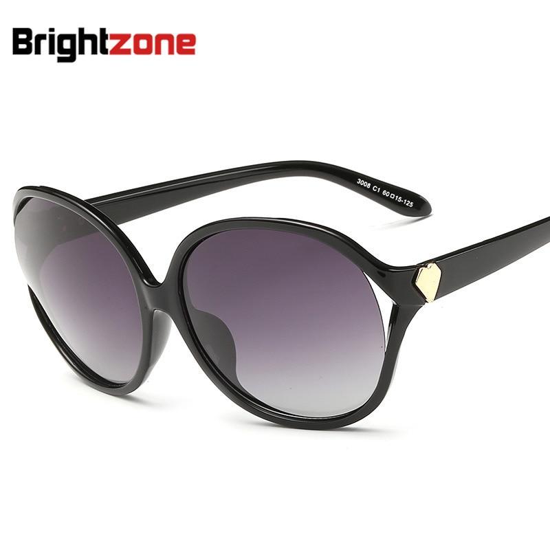 Gafas de sol nuevo patrón de las mujeres Polarized Sol Gafas clásico ...