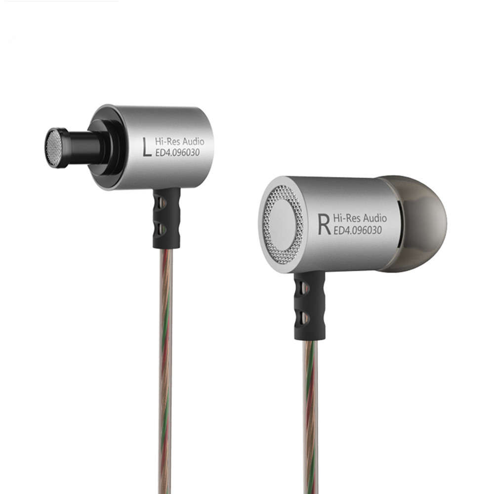 100% Original KZ ED4 3.5mm In Ear Earphone DIY 9.6mm Dynamic Unit KZ Earphone HiFi Bass Metal Earphone With Microphone original senfer dt2 ie800 dynamic with 2ba hybrid drive in ear earphone ceramic hifi earphone earbuds with mmcx interface