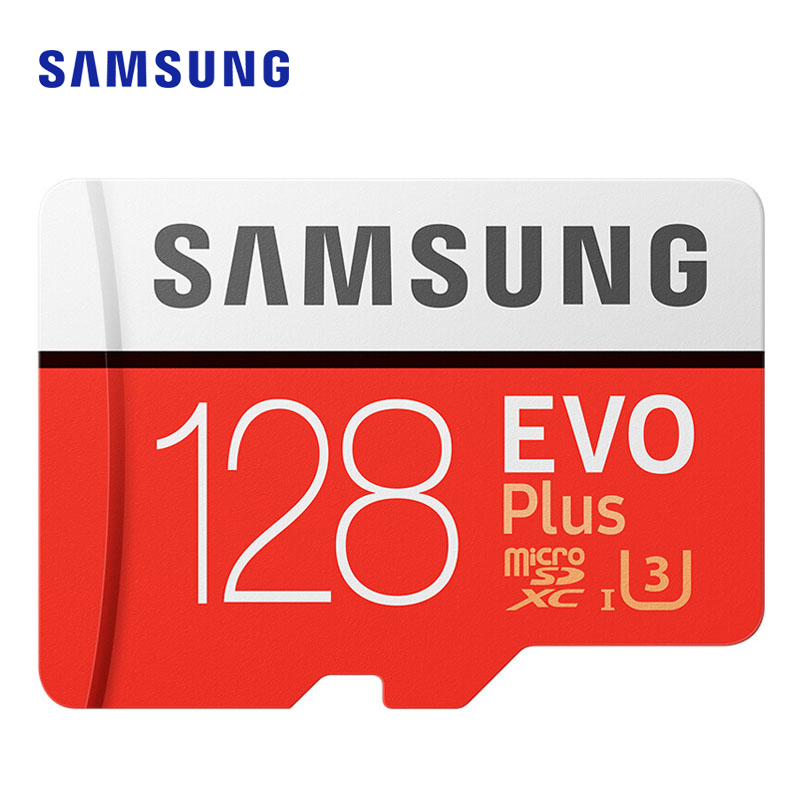 SAMSUNG Microsd Card 256G 128GB 64GB Up To 100MB/s Class10 U3 Micro SDXC Grade EVO Plus Micro SD Card Memory Card TF Flash Car