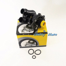 NEW 06H 121 026 AB Plastic Coolant Regulator Housing Coolant Water Pump Assembly For Audi A3