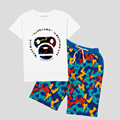 Kids/Children Fashion Summer Baby Milo Sets Clothes T Shirt+Shorts Cotton Toddler Clothing/Vetement/Conjunto For Boys/Girls