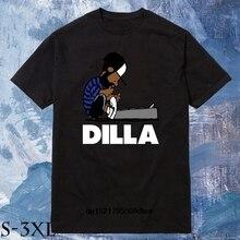 a4ae94ce8050d6 Uomini T Shirt Dilla Schroeder Charlie Brown Jay Dee J Dilla Hip Hop  Ciambelle Mf Doom Tee Girocollo Casual magliette e camicett.