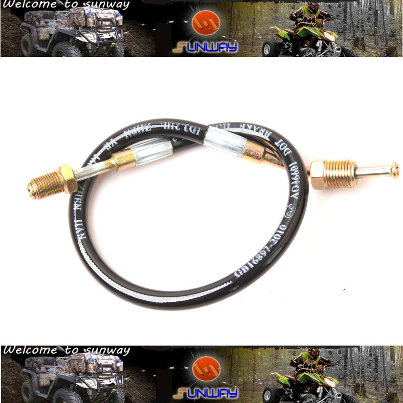 ATV Parts FOOT BRAKE HOSE for FEISHEN FA-D300 H300 ATV Quad Bike Free Shipping Number 4.3.01.3310 new l5 jazz guitar yellow maple top jazz hollow body electric guitar a pickup free shipping