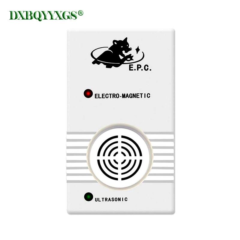 DXBQYYXGS doble cuerno doble efecto usb asesino ultrasonido de roedor repelente ultrasónico/onda electromagnética/bionic de la onda