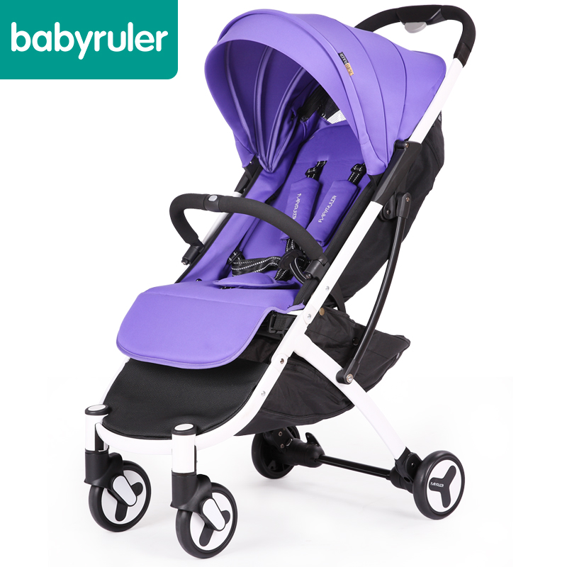 Spicy mother baby trolley super light folding can sit baby car umbrella car portable baby car baby touch car