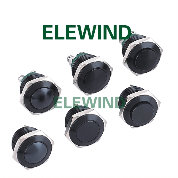 ELEWIND waterproof momentary push button switch