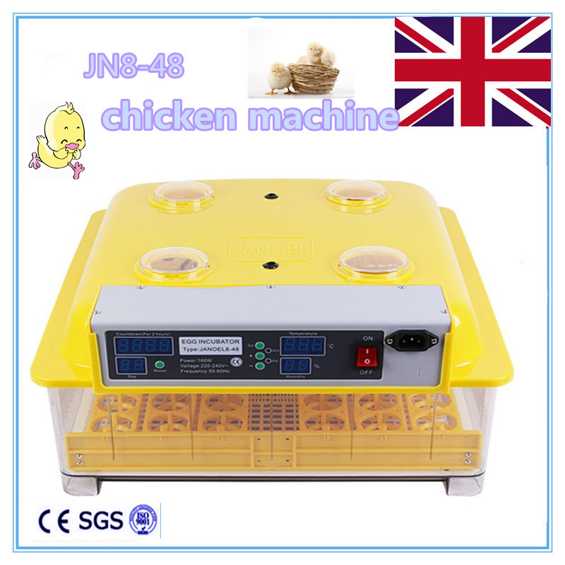 Fast ship from Germany ! Cheap  mini incubator for hatching eggs automatic egg brooder fast ship from germany and england eggs incubator automatic incubator mini chicken 96 egg