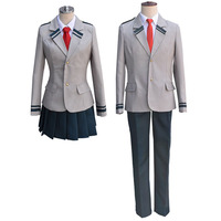 Anime Boku no Hero Academia Uniforms Cosplay Costume for Men Women Halloween Dress Carnival My Hero Academia Costume