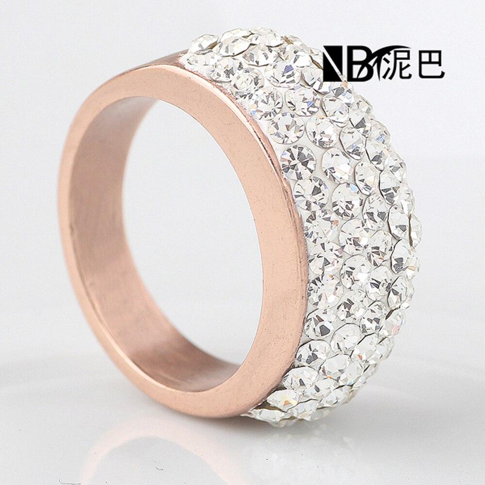 Φ_Φ316L Нержавеющая сталь розово-золотые обручальные ...