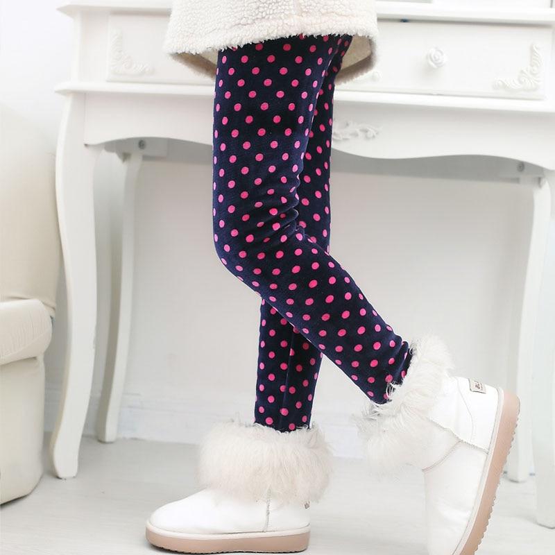 Детские штаны, осенне-зимние леггинсы для малышей, штаны для девочек с разноцветным принтом в виде цветов и бабочек - Цвет: 18