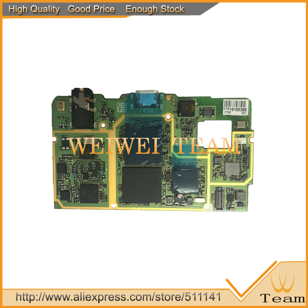 Original New Work Well For Lenovo P780 Mother board Main board Main Mother Board 4GB Rom