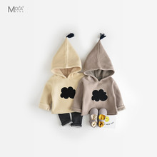 Kawaii Clothes For Baby Boys Girls Autumn Winter Kids Clothing Cloud Pattern KIKIKIDS Toddler Hoodie Winter Sweaters MAKA KIDS