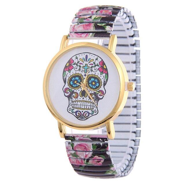 c6597f6c88d1 Harajuku mujeres de cuarzo de plástico banda reloj de pulsera de señora  vestido de reloj Relogio