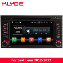 KLYDE 7″ 4G WIFI Android 8 Octa Core PX5 4GB RAM 32GB ROM Car DVD Multimedia Player Radio GPS Navigation For Seat Leon 2012-2017